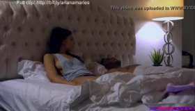 Hot Ariana Marie Puts Her Dildo Upside Down In Her Friend's Huge Garden, For The Blowjob