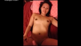 Young Asian Babe With Pigtails Is Getting Fucked In The Taxi, Instead Of Getting A Ride