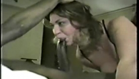 Horny, Black Husband Is Fucking A Slutty, White Chick From The Neighborhood, Who Likes His Huge Cock