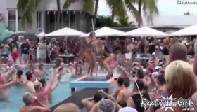 Pool Party Is Hotter In The Bar