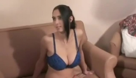 Cute Busty Milf Giving Head And Getting Fucked
