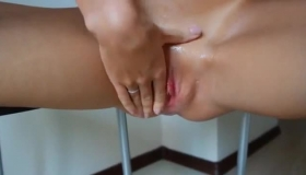 Kinky Teen Readying Herself Tobang The Masseur