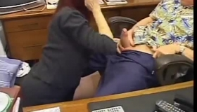 Horny Mature Secretary Twatpled By Senior