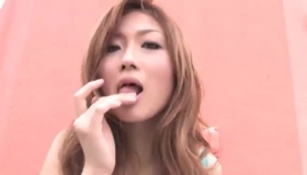 Nippon Blonde Teen Sucks Shaft And Gets Her Ass Fisted By Big Cock