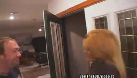 Blonde Housewife Training Her Pussy With Toys And A Dildo