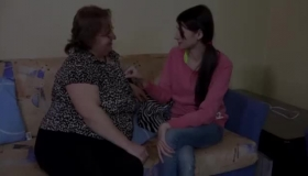 Fat Babe Is Good At Blowjobs, Too, Since She Is A Very Experienced One