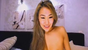Wild Asian Pussy Toyed