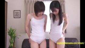 Cute Asian Teen Girls Darling Nipples