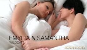 Busty Beauties Riley Reid And Eva Valentine Have Sex In Retro Photo Shoot