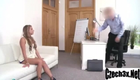 Sofi Goldfinger Is A Skilled Cock Partner, Her Loose Pussy Gets Stuffed With A Throbbing Erect Penis