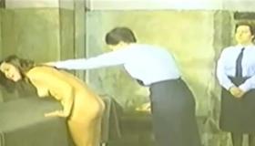 Horny Jail Bares Naked Female Slave