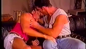 Two Gay Studs Having A Wild Foursome On The Floor