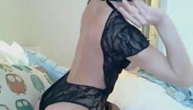 Sexy Blonde Diva Sucking On A Big Fat Cock