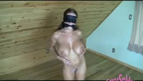 Female Domination On Some Crazy Hairy Chicks With Red Nails
