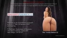 Young Lady, Yurizan Beltran Is Riding Two Big Hard Cocks, At The Same Time, Like A Whore
