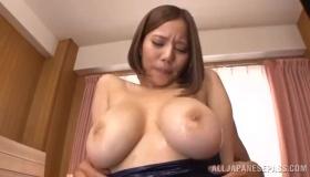 Oily Asian Babe Getting Holy Cum Slurshot