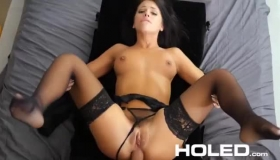 Fransis Dakota And Katie St Ives Are Using A Strap- On To Make Each Of Them Cum
