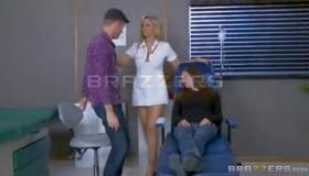 Nasty Nurse Nurse Rides Patient's Dick