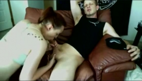 Sexual Guy Fuckin A Busty Blonde