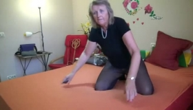 Three Mature Are Playing With Their Pussys In Oil