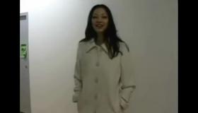 A Hot Asian Beauties Exposing Outdoors