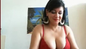 Busty Sudsy Amateur Chick Shows Off Her Large Nipples