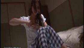 Sensual Teen Getting Face Covered In Cum