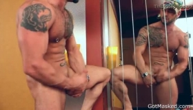 Muscled Stud Convinces A Shy Masseur To Fuck Her Hard Holes With His Huge Tool