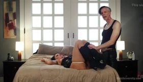 London River Is Squirting In Front Of Her House And Taking A Massive Cock In Her Wet Vagina