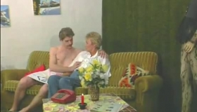 Granny Prostitute Tries Live Show