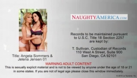 Jelena Jensen Is Squeezing Her Big Tits And Getting Fucked Sideways, From Behind, For The First Time