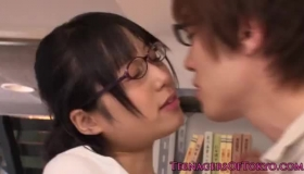 Cute Innocent Asian Girlfriend Rika Ramming A Dildo
