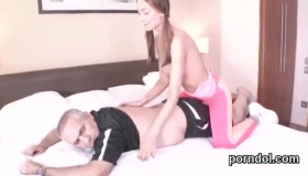 Two Nymphos Fucked At Home By Student