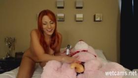 Sexy Redhead Redhead Babe Fucking Her Dad