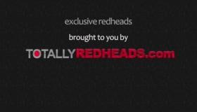 Skinny Redhead Exposing Her Body