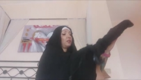 Kinky Nun Takes A Bath
