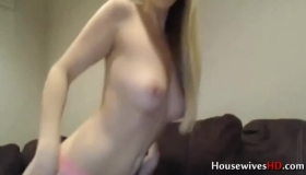 Euro Blonde All Shaved, With A Snatch Perfect For A Hardcore Fuck That Includes An Orgasm