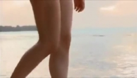 Hot Brunette Girl Masturbates Nude And Sucking