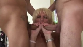 Dirty Double Penetration Nymphs Swallowing Cum
