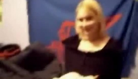 Superb Blonde Shows Tiny Butt That Sounds Like It Fits A Fat Dick Like A Dream