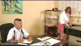 Office Slut Asstinental Love Fucked By Black Guys