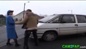 Police Officer Doing Guy