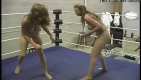 Lesbian Wrestling With Strippers