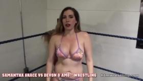 Samantha Stripping
