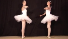 Naked Ballerina Enjoys An Anal Sex By Trypa