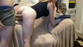 Busty Girlfriend Tattoosdelights Huge Penis