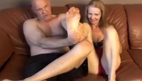 Older Old Housewife Rides Housekeeper's BBC
