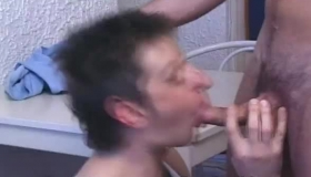 Evan Williams Barebacking 3 Cocks Smashing Her Hole Hard