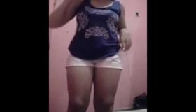 Exposed Desi Beautiful Girl Nude Ass 3
