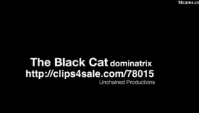 Black Cat Angelina Sexxx Gets Two Dick As A Gift From Her Old EDF Partner